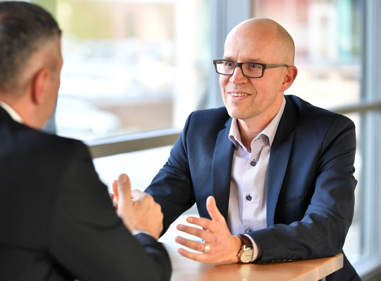 Jens Binder, Managing Director der ithinx GmbH, im Gespräch